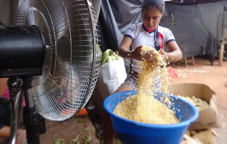Las niñas y los niños organizados defienden sus derechos laborales